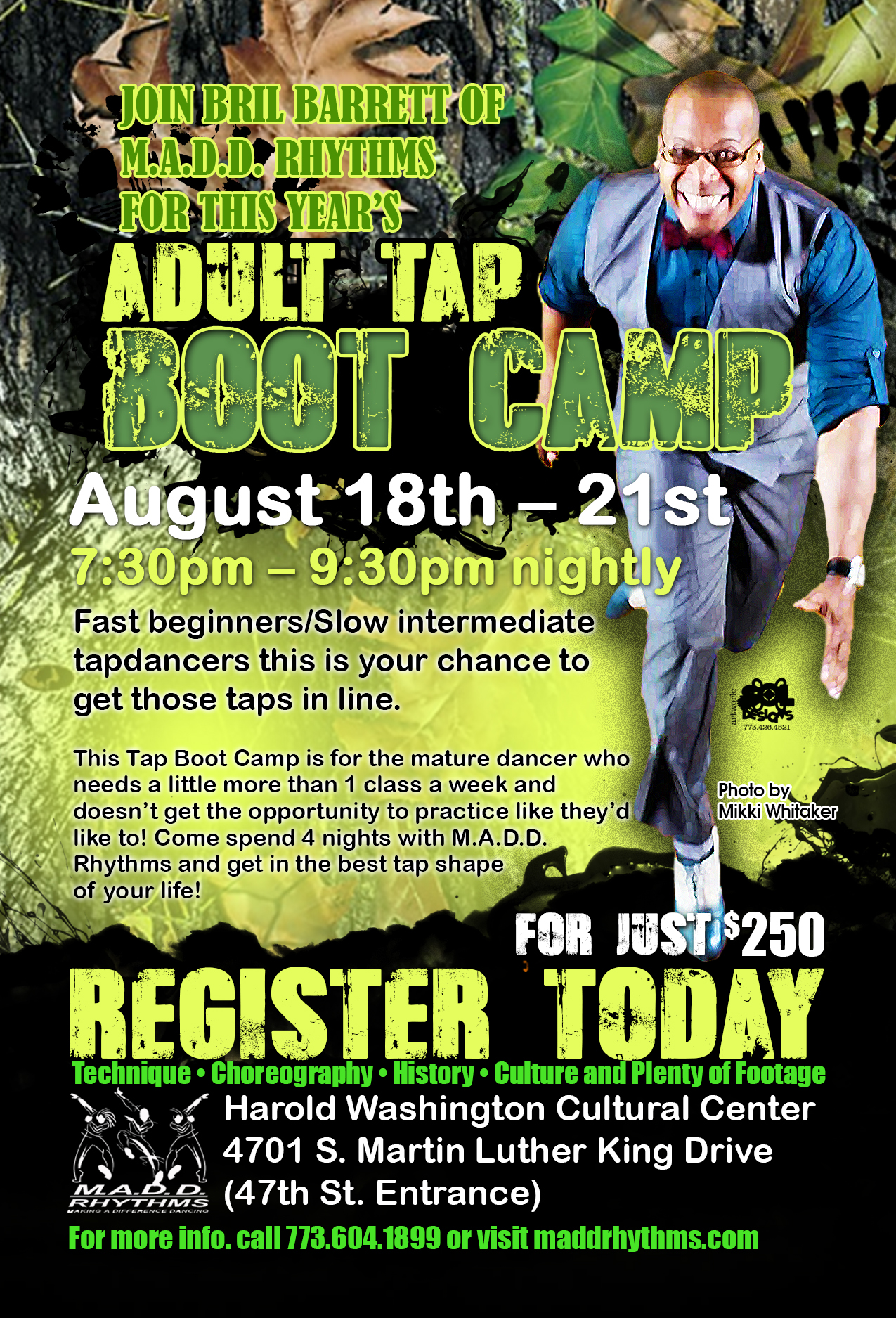 Requirements for adult boot camps
