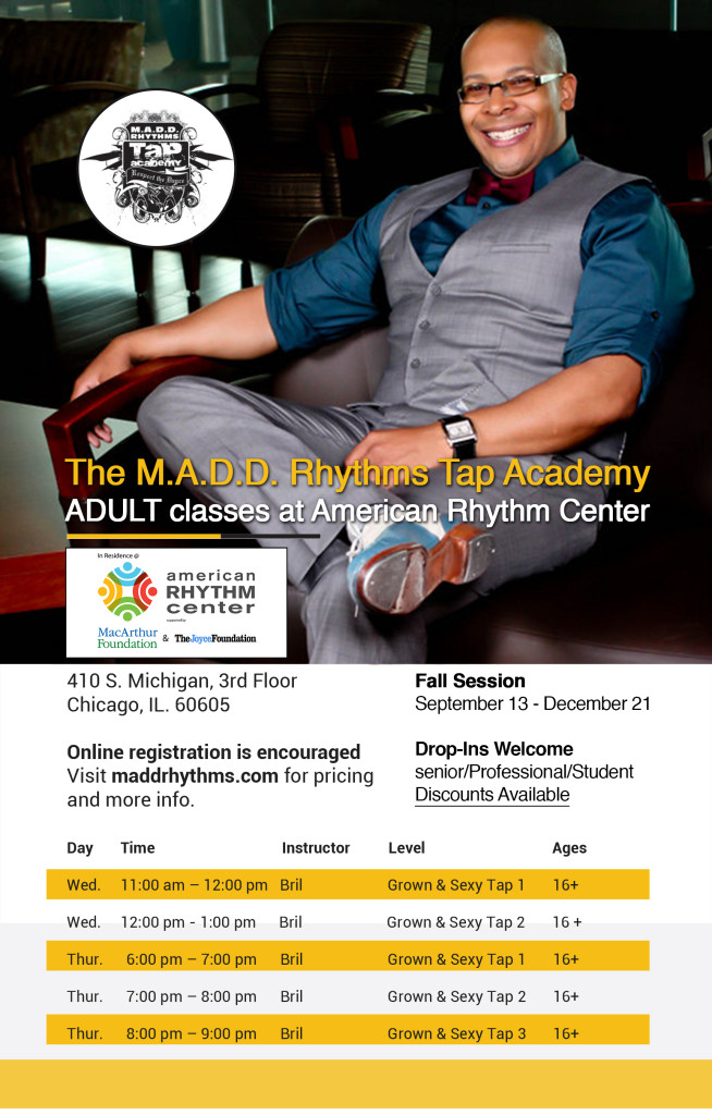 MADD RHYTHMS Brochure FAll 2016 ARC