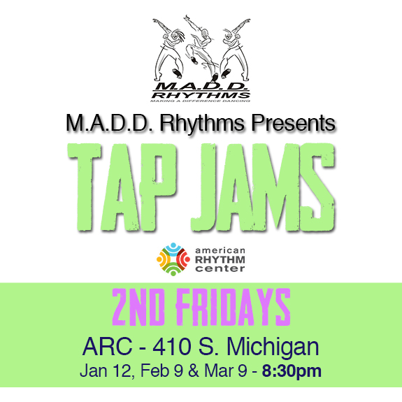 2nd Fri Tap Jam instagram Spring 2018