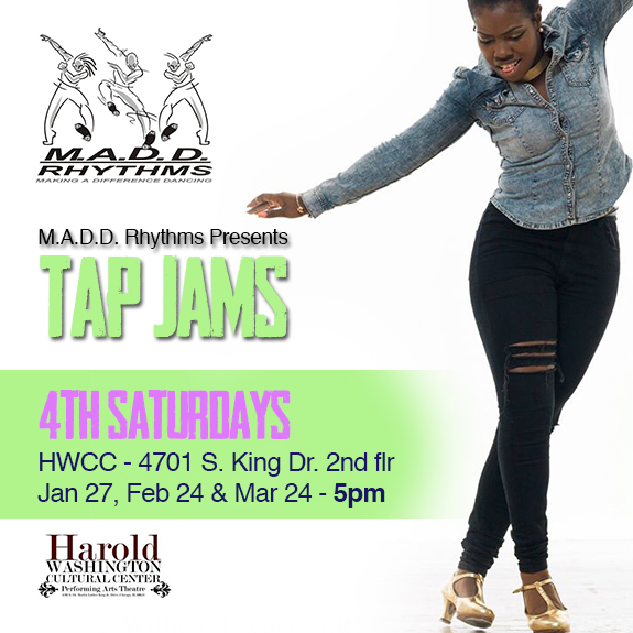 4th Sat Tap Jam instagram Spring 2018